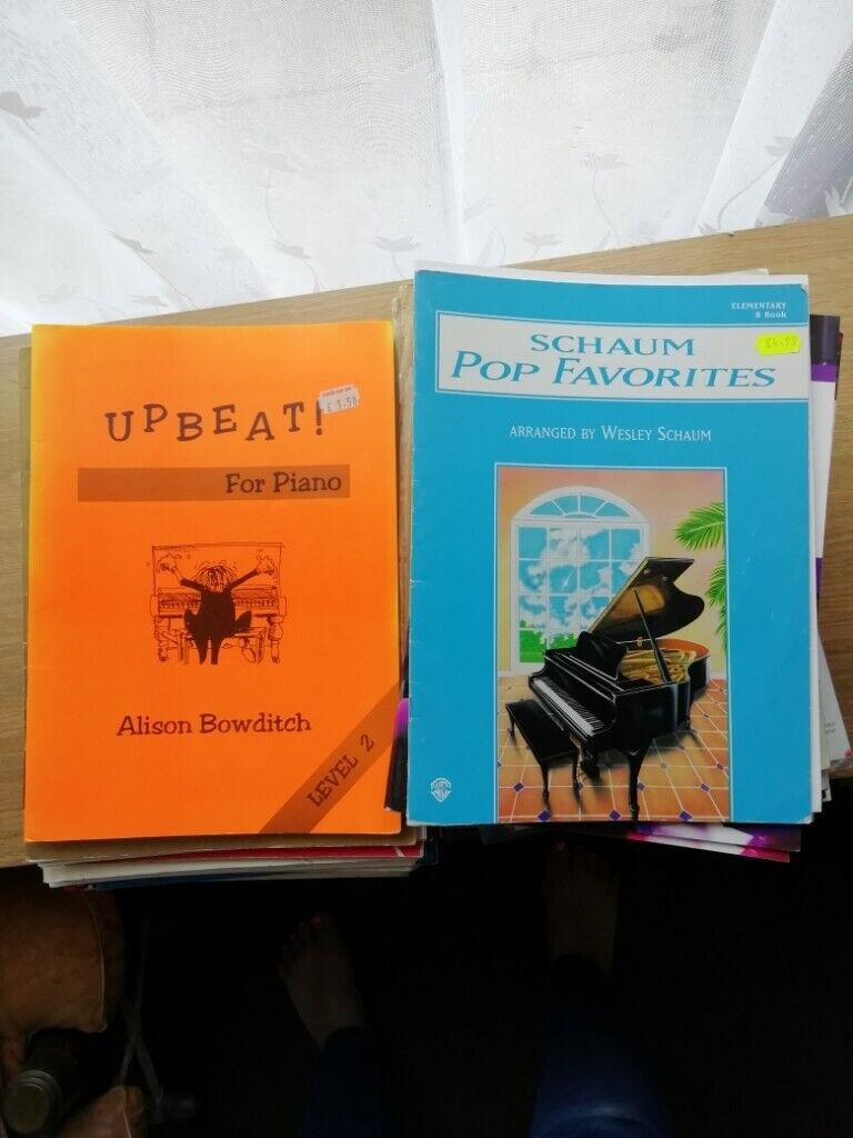 Piano music books BULK LOAD £20 ono | in St Ives, Cambridgeshire | Gumtree