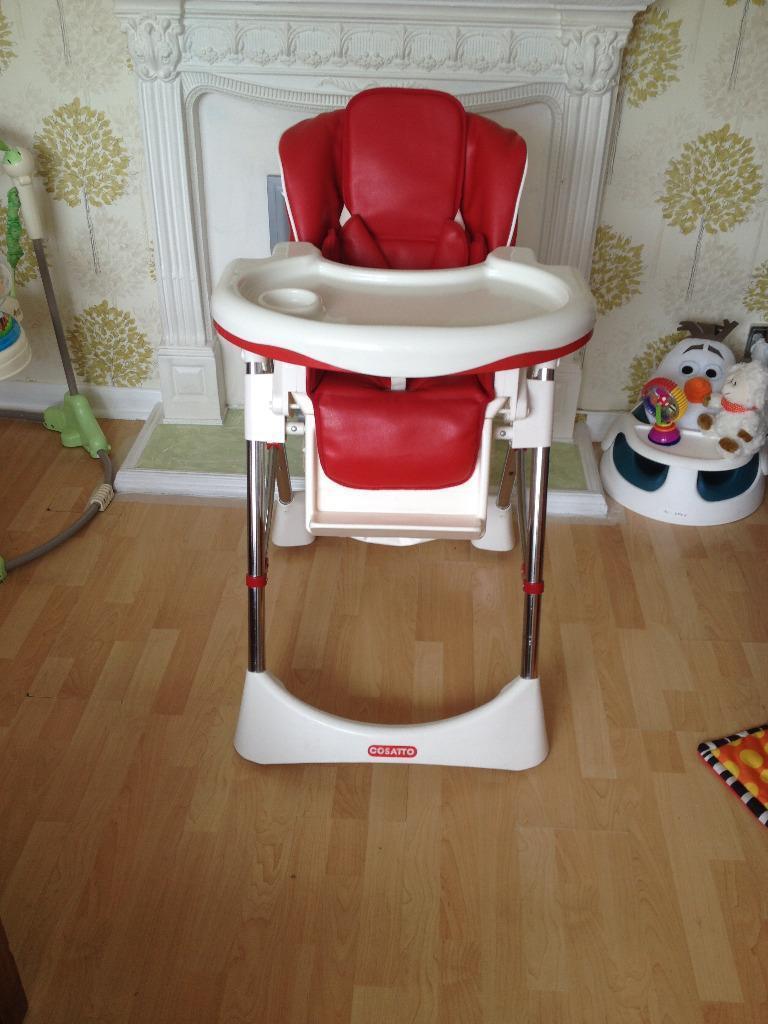 Cosatto Aurora Deluxe Diner High Chair In Sutton