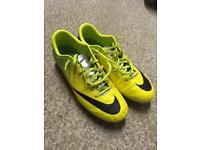Nike Yellow/Green Mercurial FG Size 6 £30