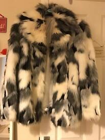 Dorothy Perkins fur coat