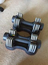 Women's Health 10Kg Adjustable Dumbbells