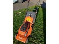 Flymo petrol engine lawnmower