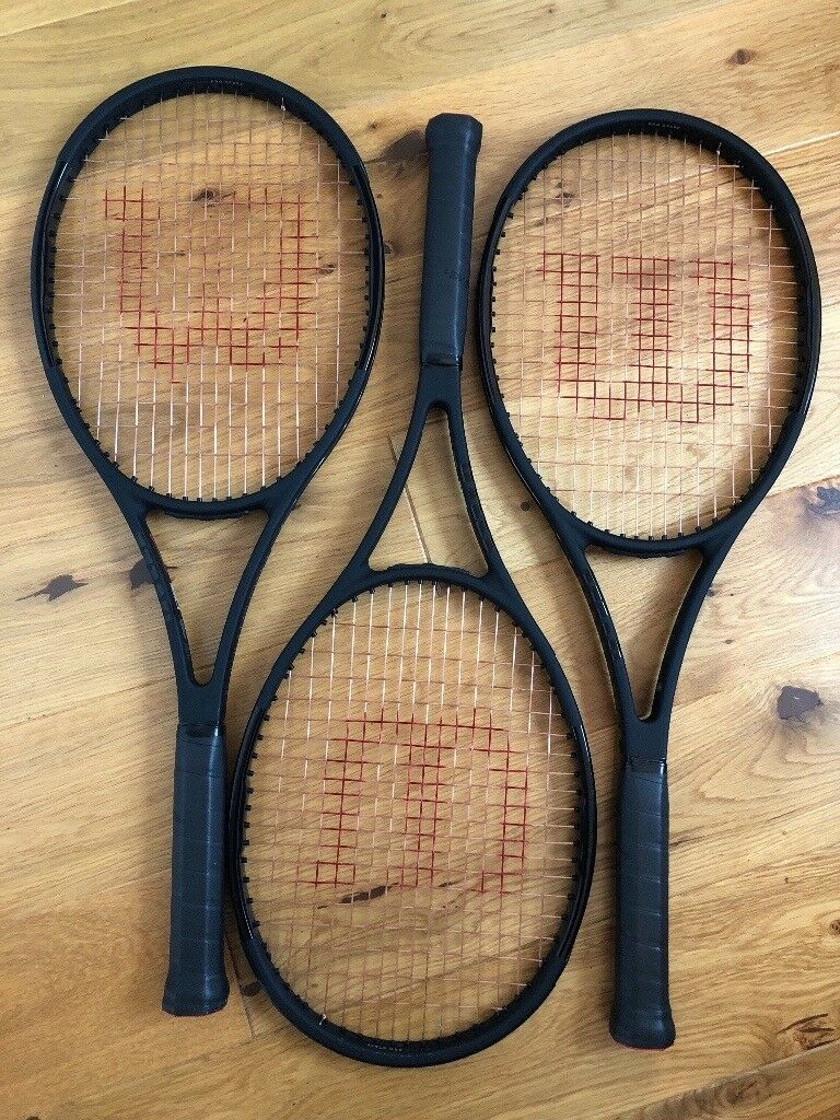 e97bc161d Wilson ProStaff 97 Countervail tennis rackets x 3. Grip 3. As new condition