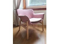 Ikea VEDBO armchair light brown-pink