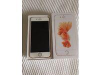 iPhone 6s, 16gb, rose gold, new, O2/Tesco