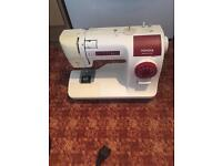 Toyota ergonomic design sewing machine
