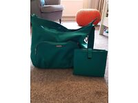 Mamas and Papas changing bag (Ellis) in teal