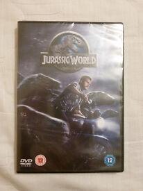 NEW JURASSIC WORLD DVD