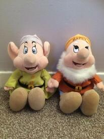 2 x gorgeous Disney plush toys