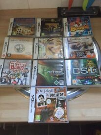 🐥handy🐥Nintendo ds xl +power lead + 10 games Dundee/deliver/post 🐥handy🐥