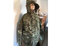 New pattern MTP camouflage jacket
