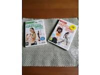 2 Wii fitness discs . Unopened offers
