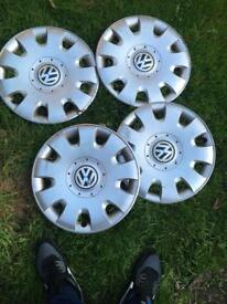 "Mk5 golf 15"" wheel trims"