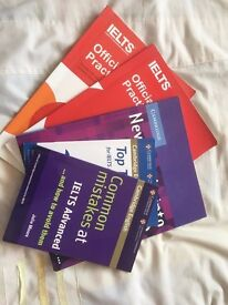 Five Books for IELTS Exam