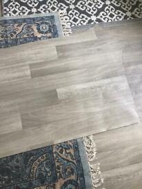 Off cut vinyl flooring