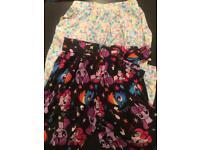Girls hareem pants age 7-8 (2 pairs)