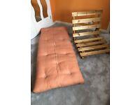 Futon Company single seater futon sofa bed