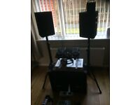 Small dj set for house partys & small venues
