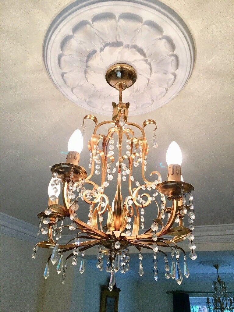 2 italian chandeliers
