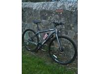 VOODOO HYBRID BIKE SIZE MEDIUM, WITH HYDRAULIC DISC BRAKES, £140