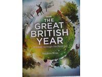 The Great British Year - Wildlife through the Seasons – Brand New Huge Full Colour Hardback, 300+pp