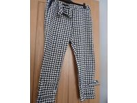 Designer Trousers size 12 uk excellent condition - suitable summer or winter