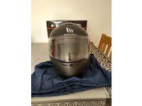 MT Thunder Motorcycle Helmet Solid Matt Black