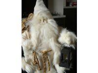 Traditional Father Christmas figure