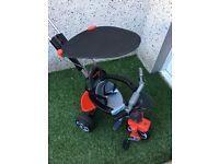 Avigo baby/toddler parental handle push trike
