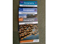 National 4 and 5 SQA Geography course books