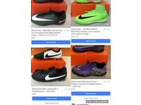 Brand new Nike kids football boots - various sizes