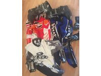motocross boots and clothing