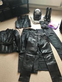 Ladies motorbike clothing job lot