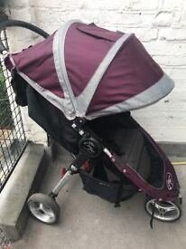 Baby Jogger City Mini with snack tray