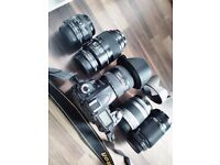 Nikon pro/enthusiast kit : 5 lenses dslr