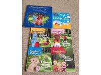 In The Night Garden kids books x 6