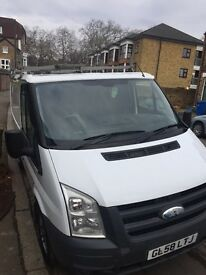 Transit van very clean only 87000. Miles