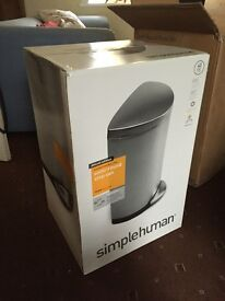 Simplehuman Semi Round Pedal Bin 40 litre - BRAND NEW & BOXED