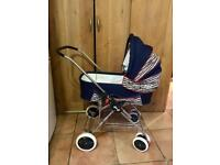 Silver Cross 4x4 Baby Pram - Unused - Vintage Retro Child Pushchair