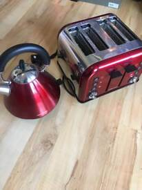 Morphy Richards Kettle & 4 slice toaster