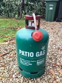 Patio Gas Canister and Valve