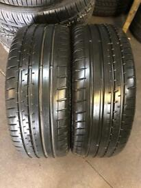 2 PW 205 55 16 Continental SportContact 2 Extra Load Tread 5.5mm-6.5mm