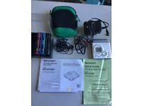 Sharp minidisc player and 5 minidiscs