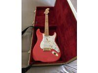 Hank Marvin Fiesta Red Custom shop Fender Stratocaster