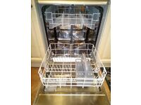 Beko sleek slim line fascia Freestanding Full Size Dishwasher