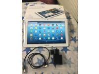 Two Samsung tablet Tab 2 10inch Boxed Tab sm-T520 like new
