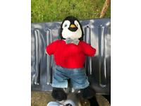 Build a bear penguin plush toy and outfit