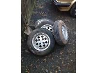 Ford Fiesta xr2 pepperpot alloy wheels