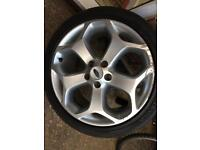 FORD FOCUS ST ALLOY 225 40 18
