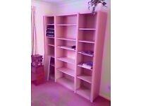 Massive book shelf set of shelves bookshelf 196cm x 180cm